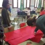 preparando los disfraces 2º P (3)