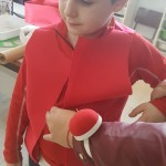preparando los disfraces 2º P (5)